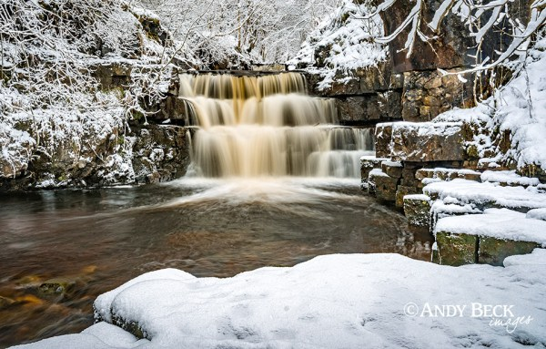 Bowlee Beck waterfall, Teesdale