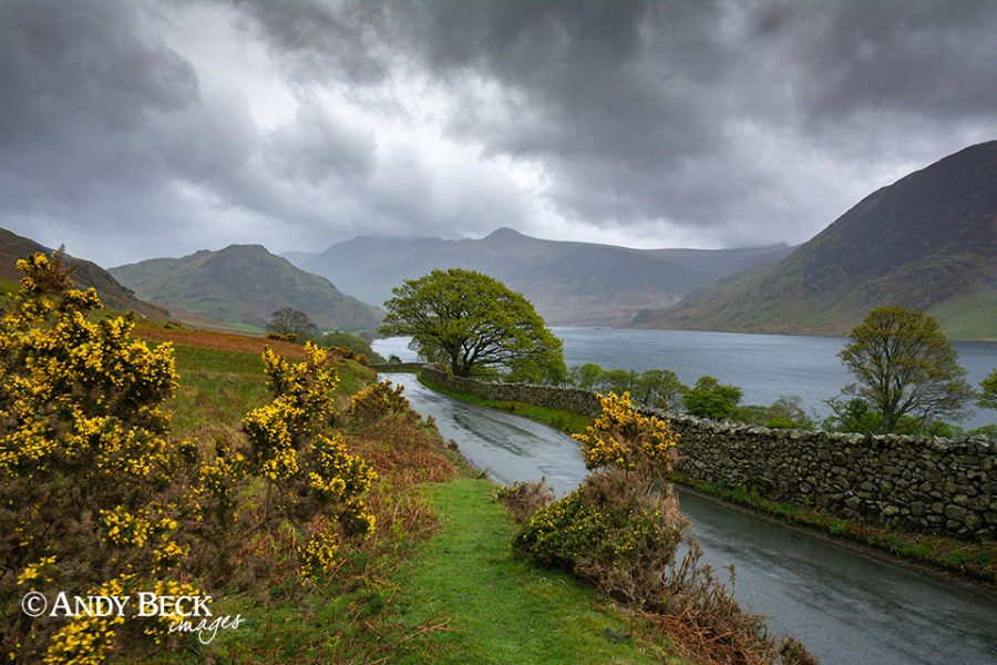 Rainy day at Crummockwater