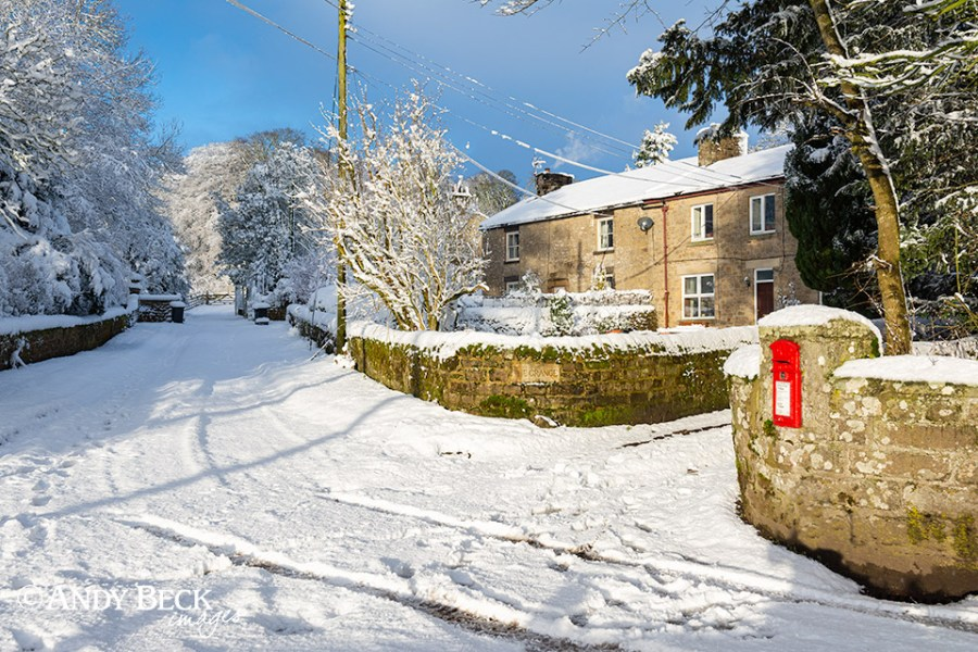 Gilmonby in snow
