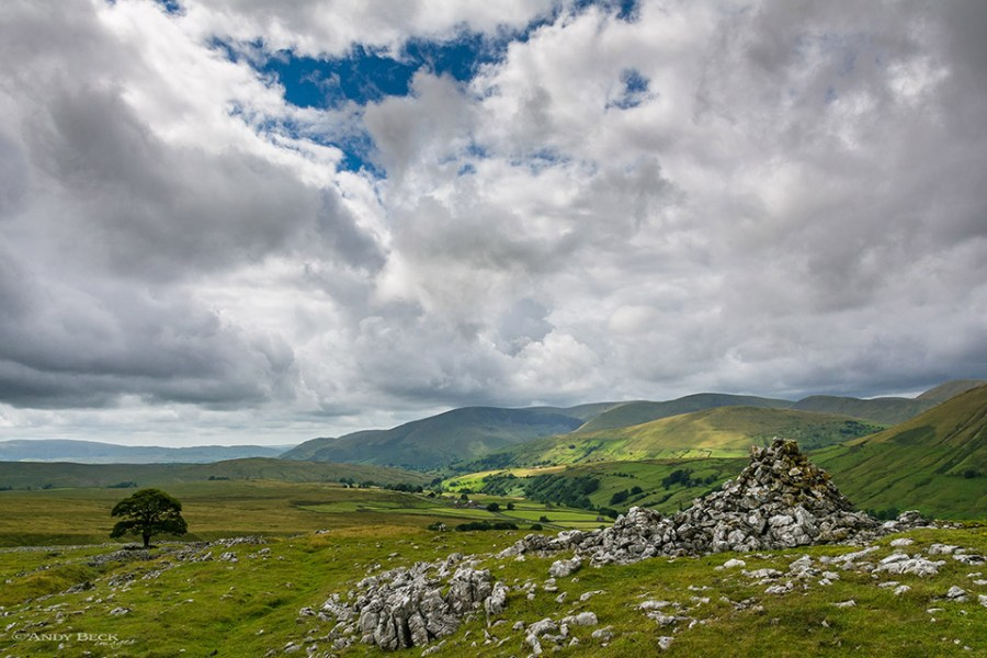 The Howgill Fells from Fell End