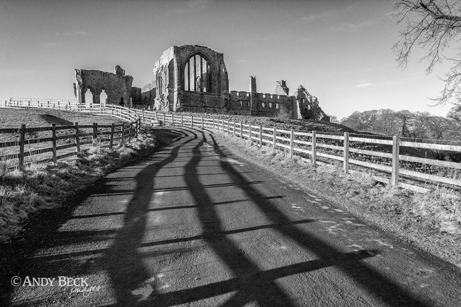 Leading lines, Egglestone Abbey