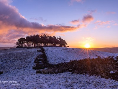 Sunrise at Kirkcarrion