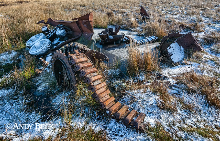 Old tank wreck