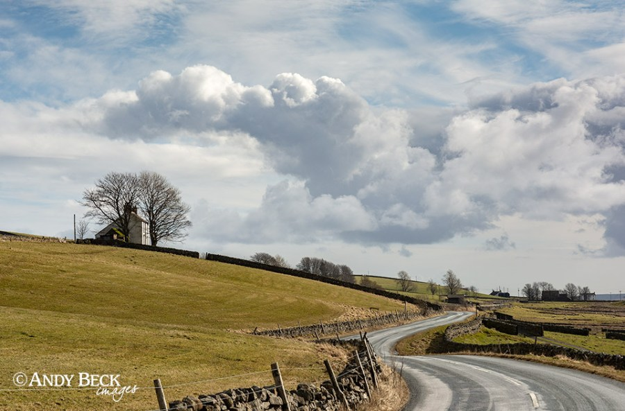 Road through the dale
