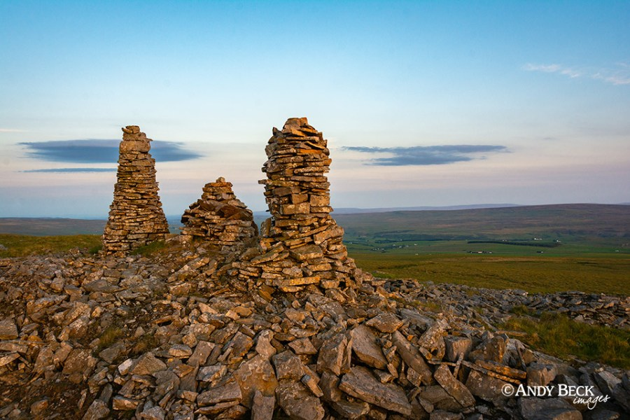 The cairns on Church Bowers, Upper Teesdale