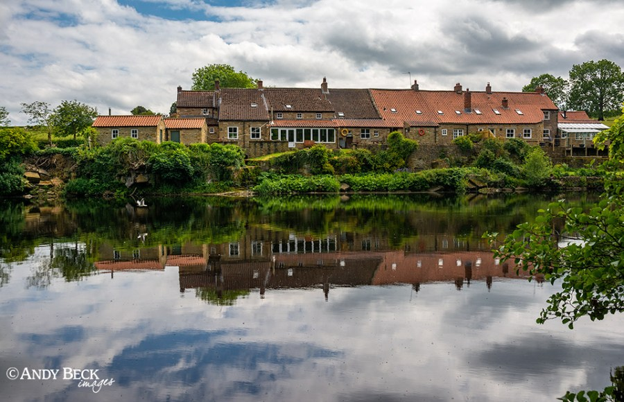 River Tees reflections