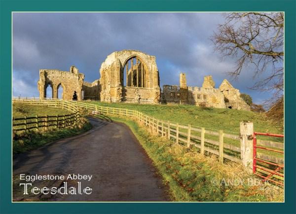 Egglestone Abbey postcard