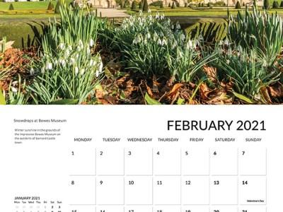 Teesdale calendar 2021 February
