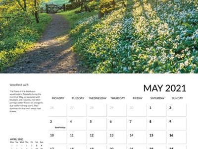 Teesdale calendar 2021 May