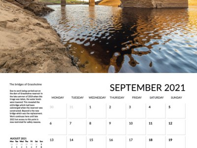 Teesdale calendar 2021 Sept