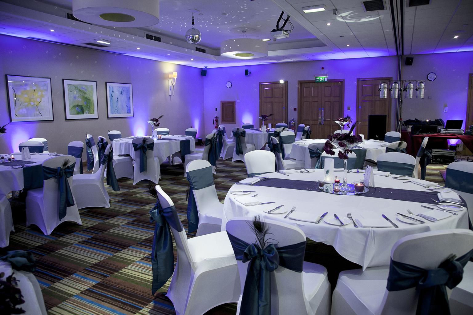 chair cover hire manchester uk dark green covers andyb events » wedding dj victoria & albert marriott