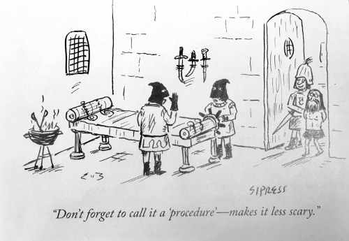 small resolution of leading up the the procedure someone sent me this funny cartoon