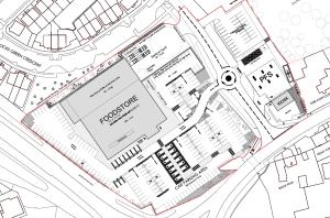 Ludlow Rocks Green supermarket bid – the planning application is in