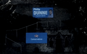 I agree with Philip Dunne that election posters shouldn't be defaced – but neither should he deface our town's heritage