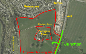 Developer wanting to build more than 100 homes off Foldgate Lane passes highways test