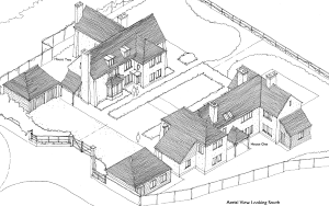 Plans for housing revised to 'preserve important vista' from Linney – updated