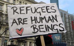 We are a #RefugeesWelcome town and county – update on the refugee crisis