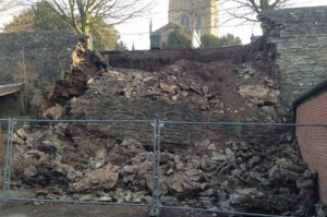 At last, some progress on repairing Ludlow's town walls