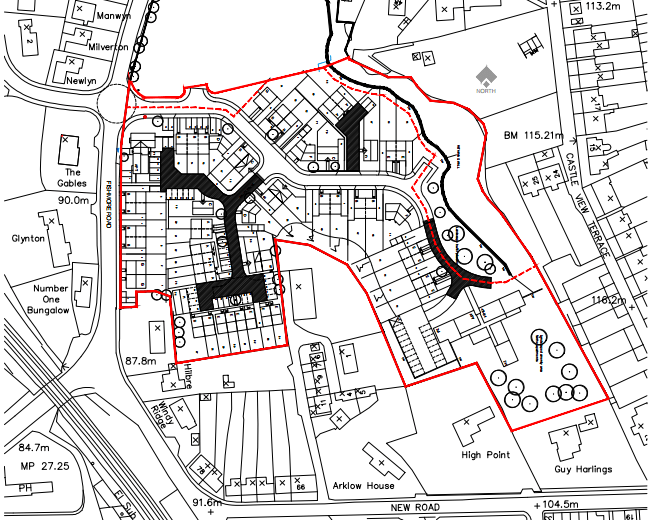 New housing plans for former quarry site on Fishmore Road, Ludlow