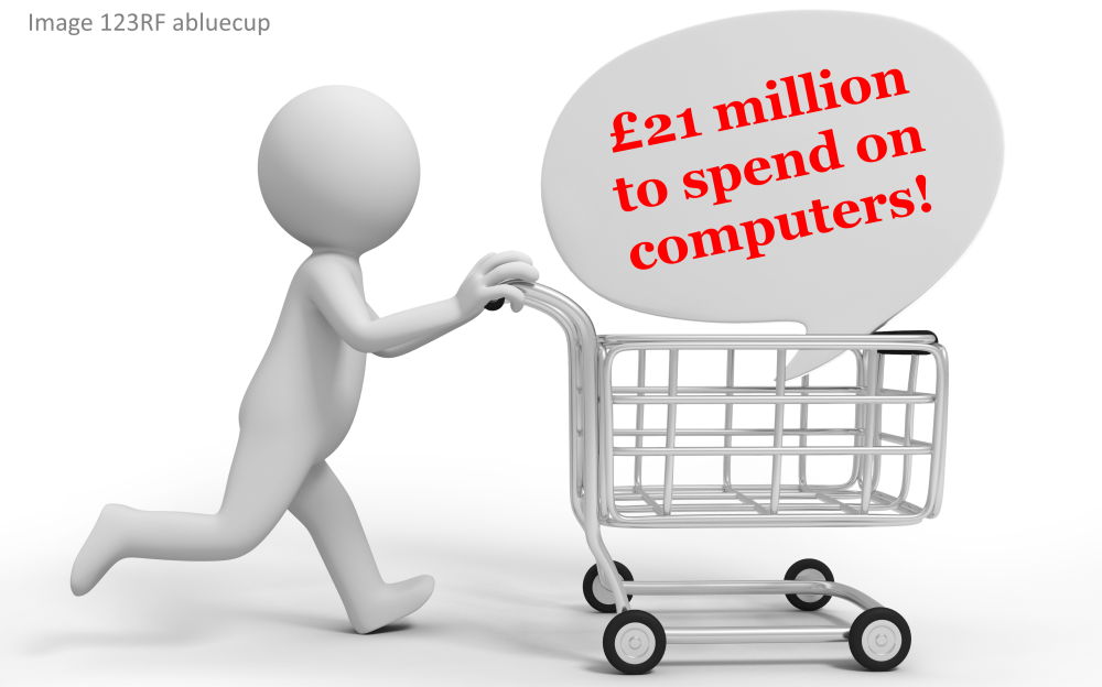 Shropshire Council going to spend £46 million on computers over five years – it's not justified