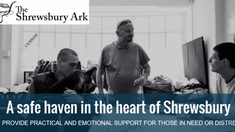 Shrewsbury Ark goes outreach to tackle rough sleeping but let's not forget the hidden homeless