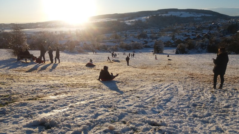 Snow and ice update for Ludlow – roads, schools, buses and more. Tuesday (updated 11.00am)