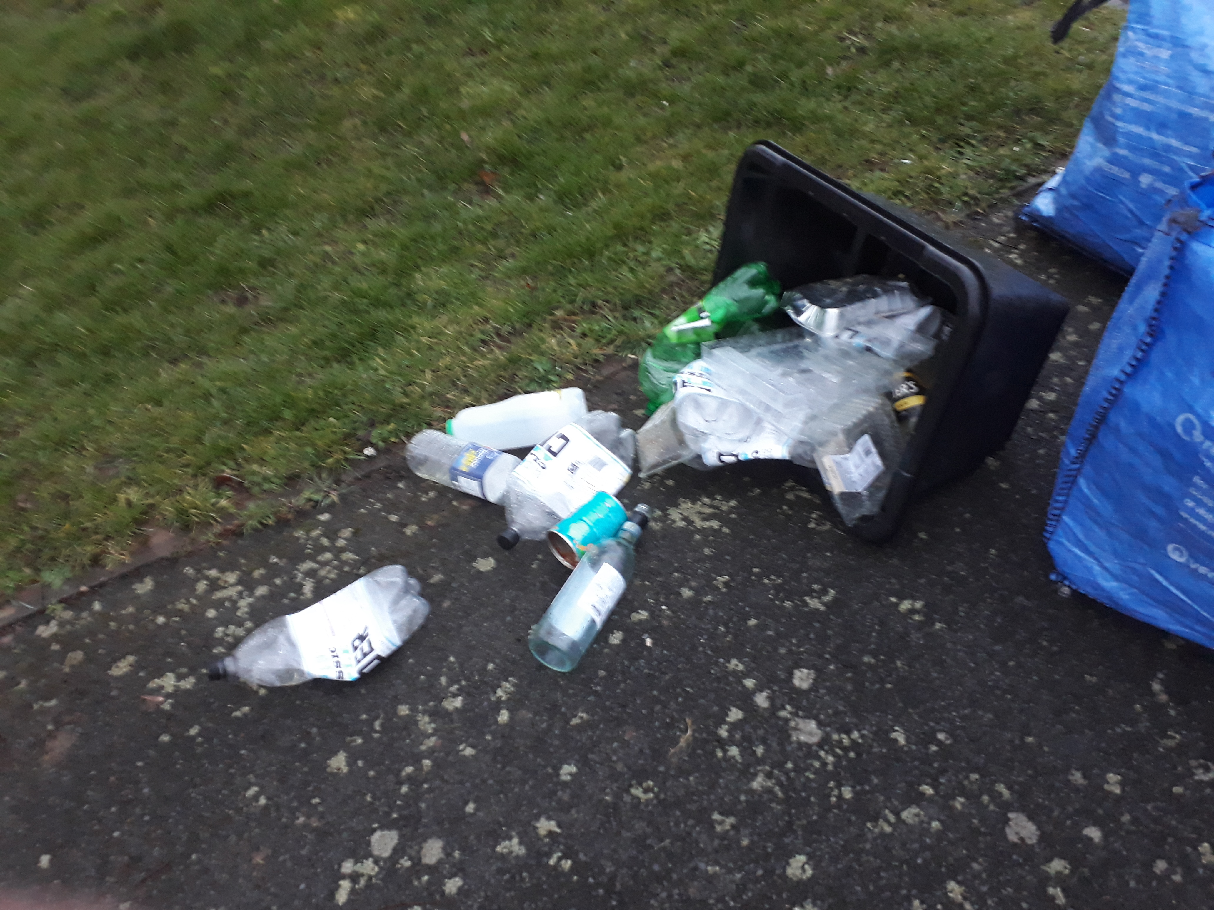 When the wind blows, streets are littered with recycling – but Shropshire Council refuses simple solutions