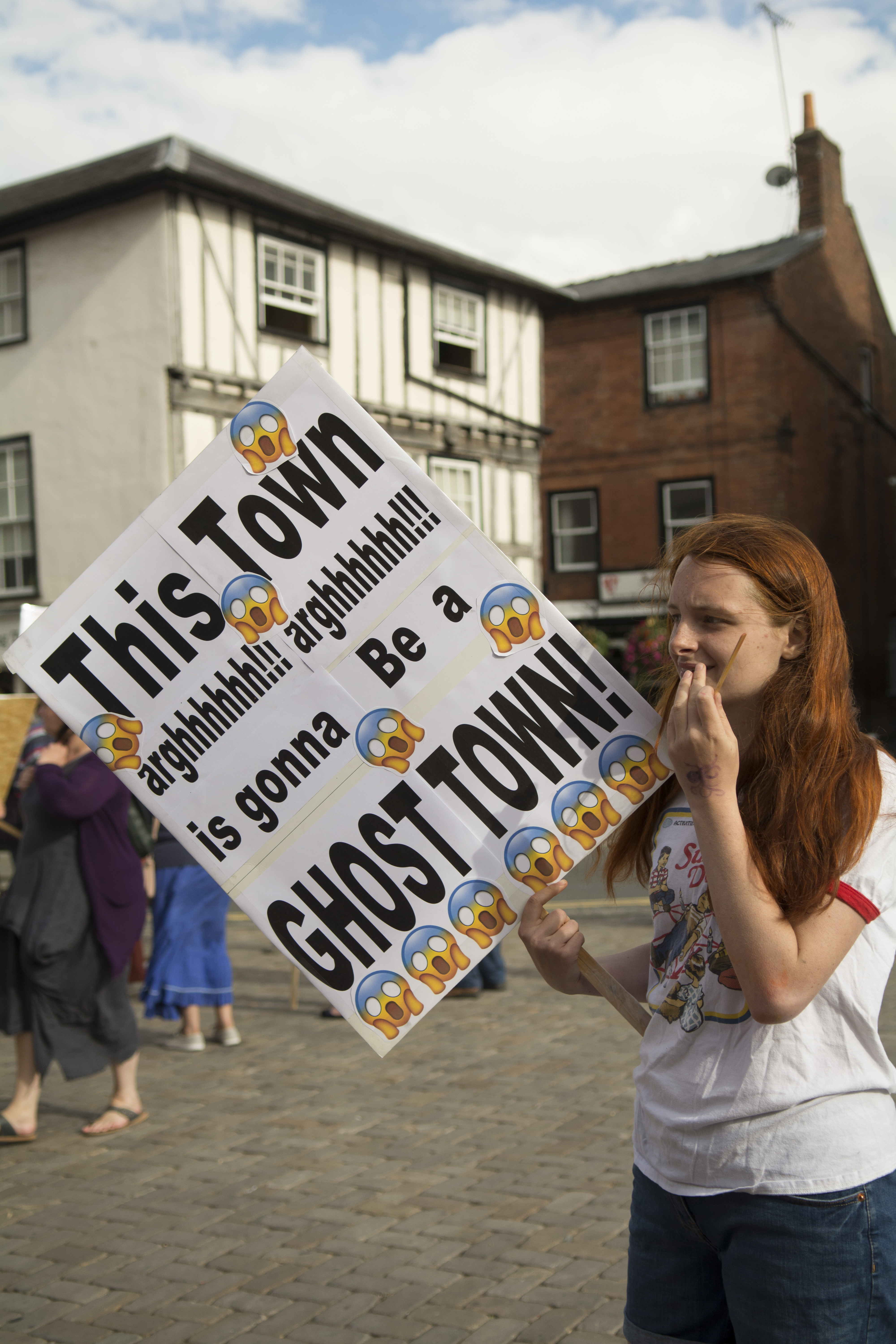 Huge turnout for Ludlow parking protest last night – now Shropshire Council must deliver