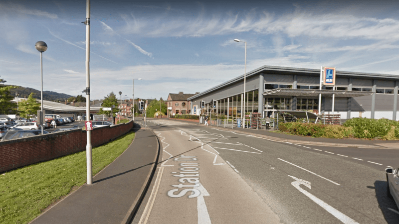 Dodgy pedestrian crossing between Aldi and Tesco on Station Drive is to be fixed