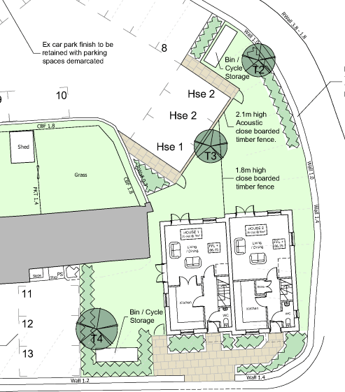 New plans for housing at the Bridge Inn, Ludlow are a big improvement