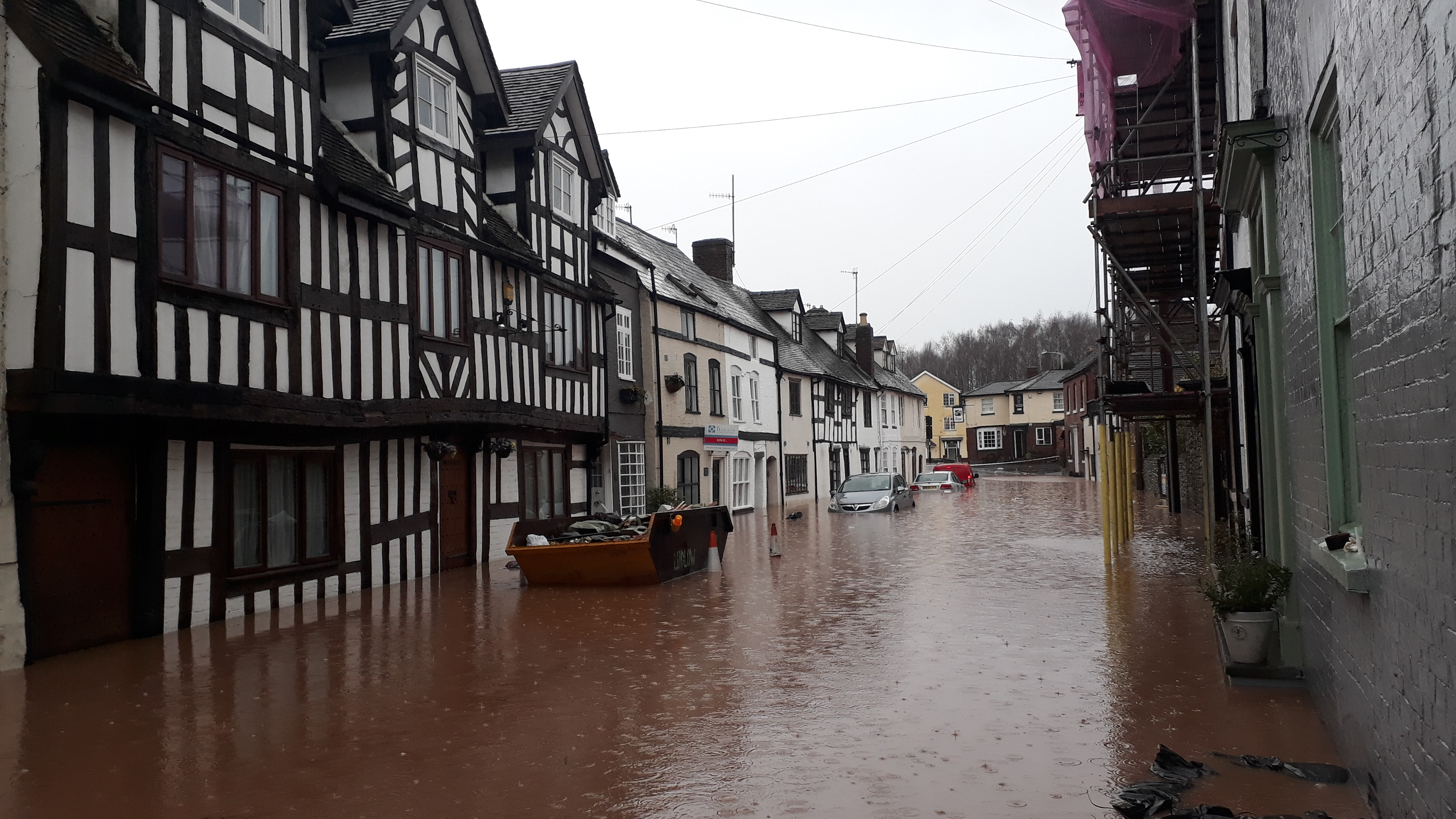 Storm Dennis – call from Shropshire Council for residents and businesses to register for flood relief funding