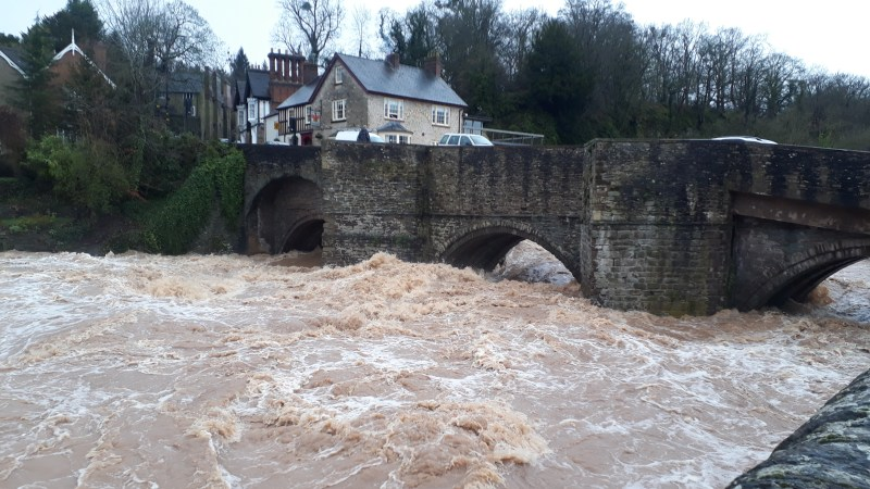 Storm Dennis: Criticism of councillors and town council as it discussed the flood on Monday