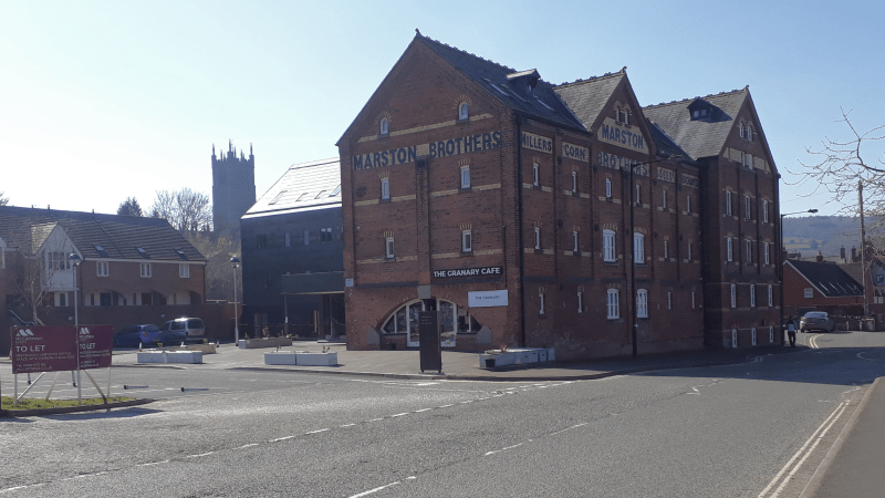 Flooded out Temeside Vets applies to move into spare office space in Marston's Mill – it's a great plan