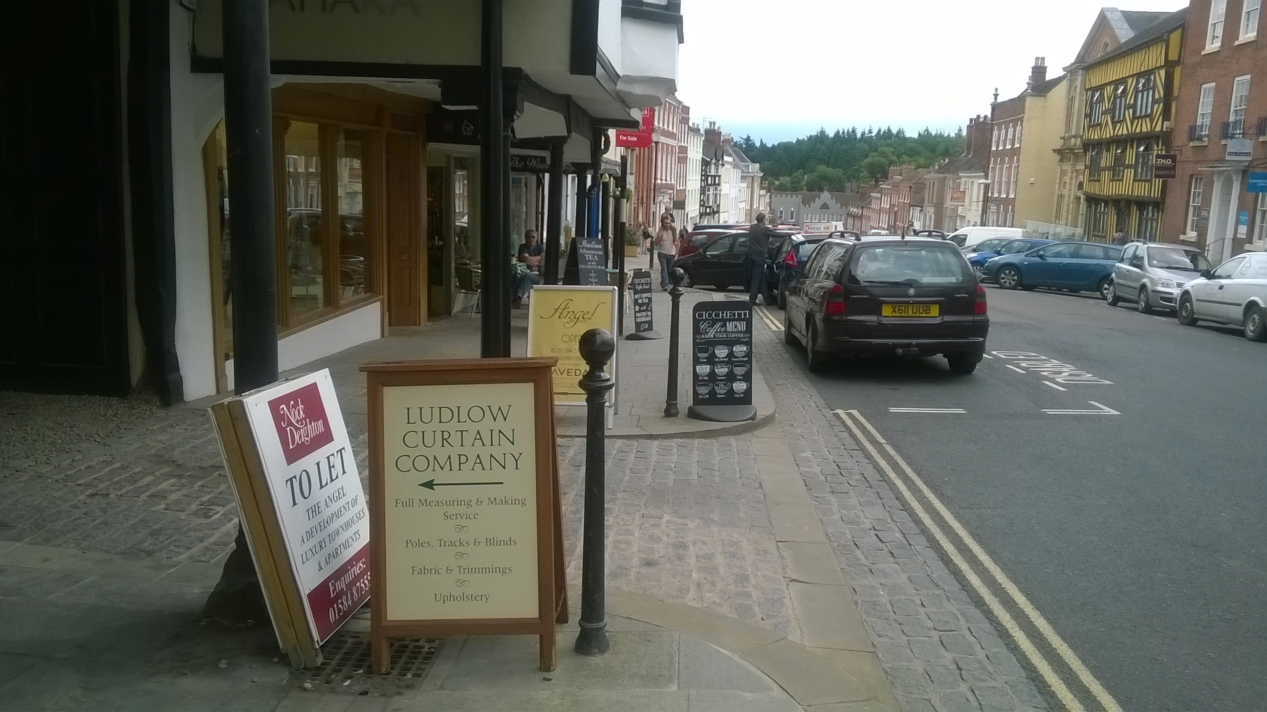 Shropshire Council wants to regulate A-Boards and charge small traders in Ludlow up to £213 a board