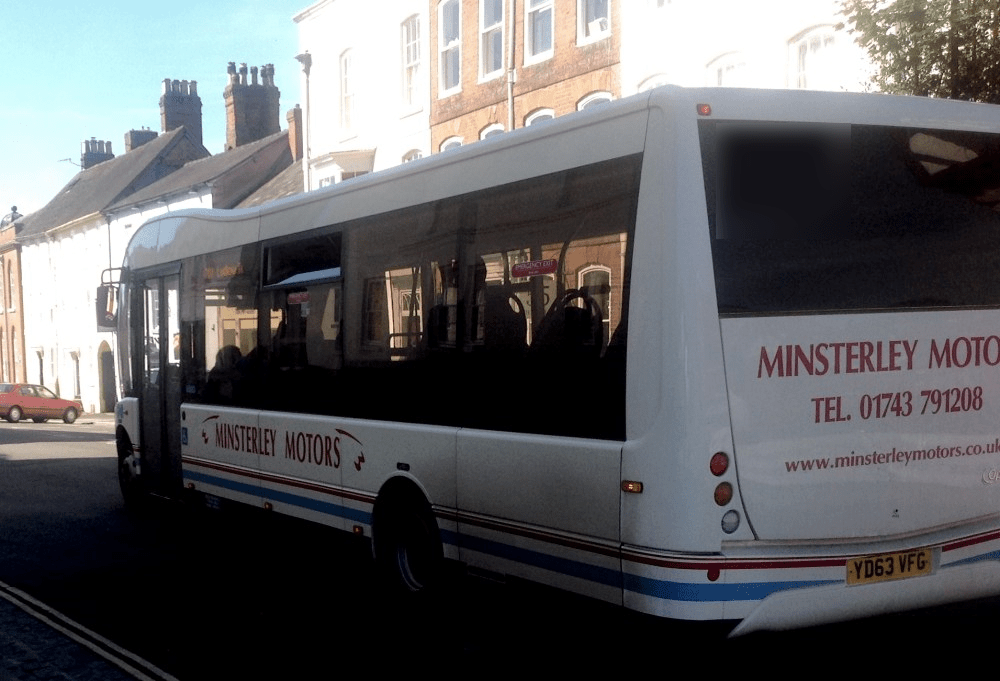 Bus Users Shropshire: Rejuvenating Ludlow's Park and Ride Service 722