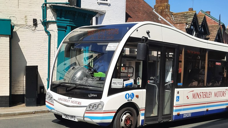 Good news for Ludlow with increased bus services and park and ride on Friday and Saturdays during August