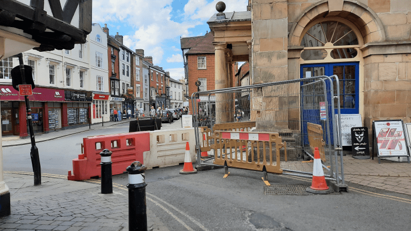 No date yet for Buttercross repairs – King Street to remain closed for a few weeks at least