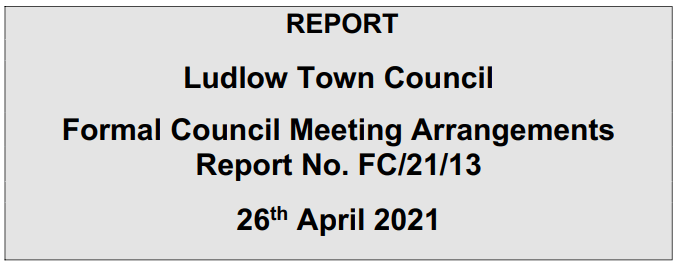 Covid Watch 103: Ludlow Town Council should not swing a wrecking ball at democracy
