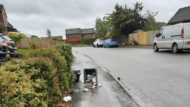 Shropshire Council is dragging its feet on introducing wheelie bins for recycling