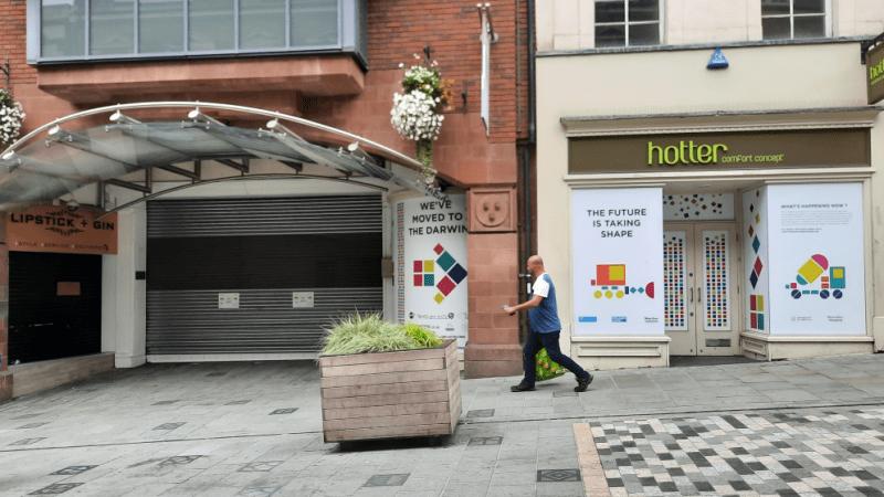 Lib Dem Leader attacks secret debate on Shrewsbury's shopping centres