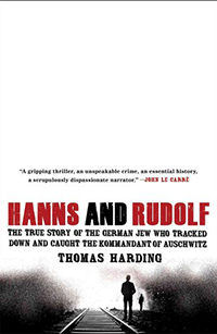 Cover of Hanns and Rudolph by Thomas Harding