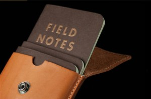 Field Notes Notebooks in Pouch Carrier
