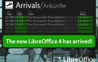 LibreOffice 4.0 Has Landed