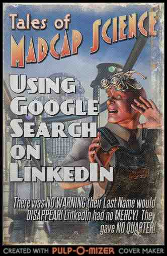 Using Google Search to find People on LinkedIn