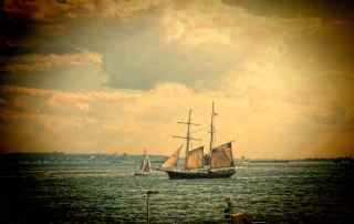 Sailing Ship New York Harbor