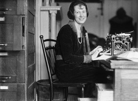 Woman at Typewriter 1923