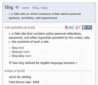 Blog - Merriam-Webster