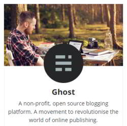 Ghost logo & image
