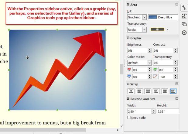 Properties - Graphics editing tools