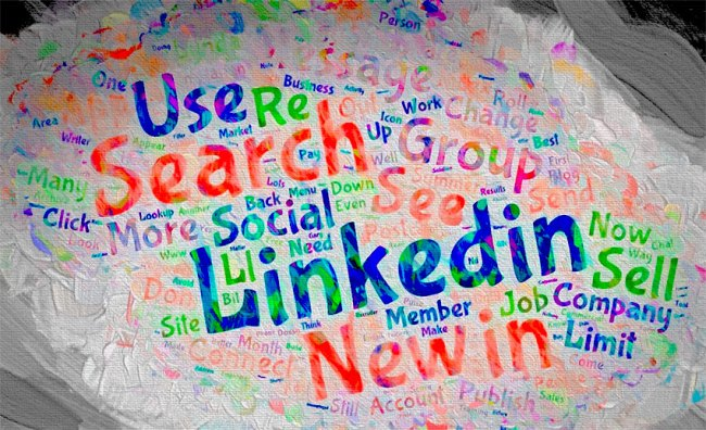 LinkedIn word cloud